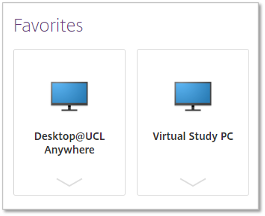 Virtual Study PC option in Citrix StoreFront