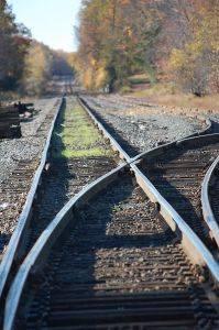 Railway tracks…