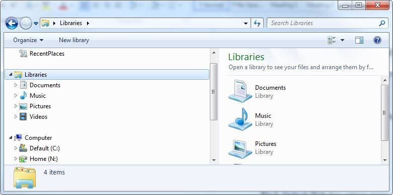 Filestore@UCL: Restore a deleted file or folder in Windows 7 or