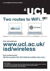 Wifi locations poster…