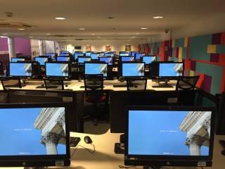 DMS Watson computer workroom