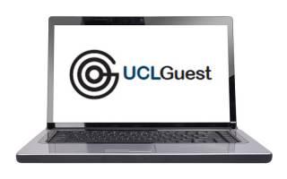 Get Connected UCLGuest laptop