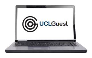 Get Connected UCLGuest laptop