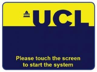 Home screen…
