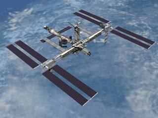 International Space Station…