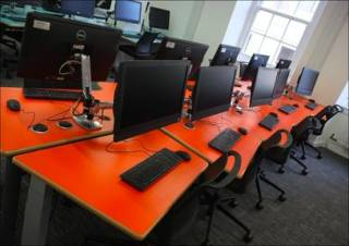 Example of a refurbished learning space…