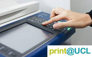 Print, copy & scan services at UCL…