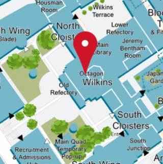 Service Desk Main Library location map