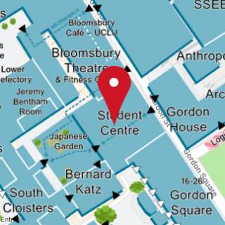 Student centre location map