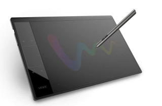 A picture of the Veikk A30 pen tablet
