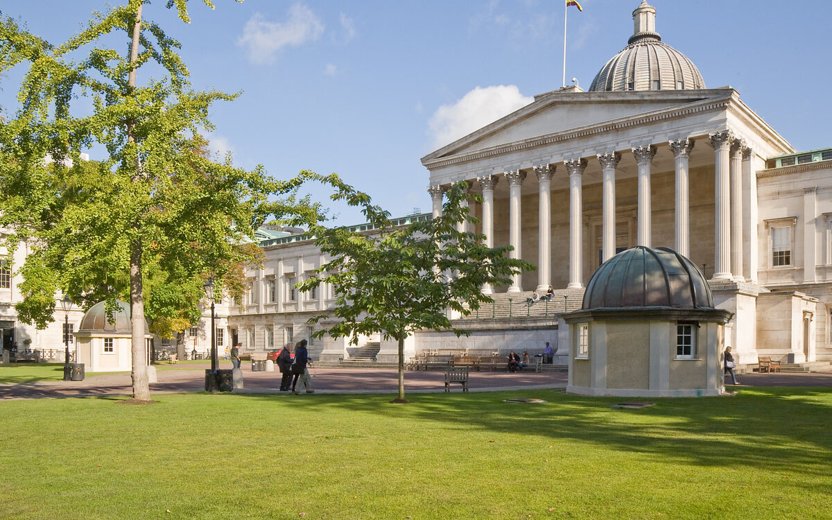 A view of the Wilkins building at UCL