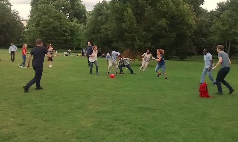 Towers lab picnic in Regent's Park 2016