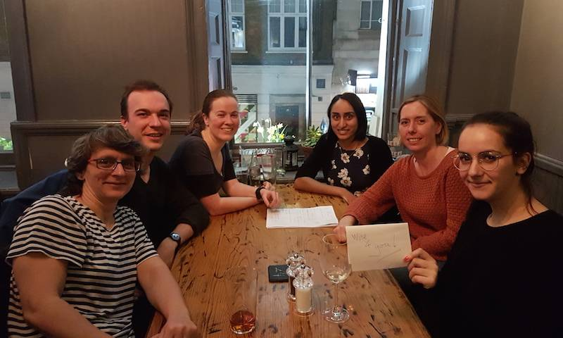 A win for the Jolly lab at the Feathers pub quiz