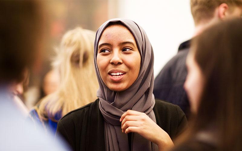 Marium Yusef - a UCL Laidlaw Scholar 2017 and 2018