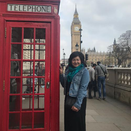 International Pre-Master's student Aliya Temirkhan