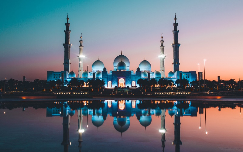 Arabic evening language course - Mosque in Abu Dhabi