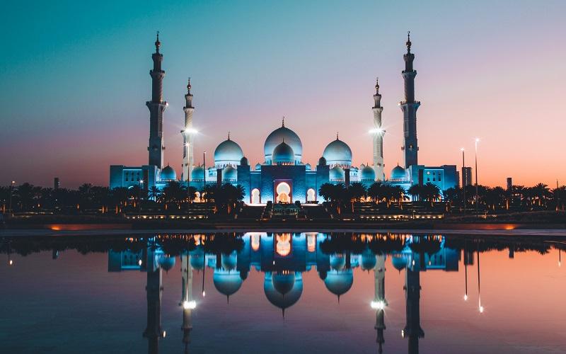 Arabic evening language course - Mosque in Abu Dhabi