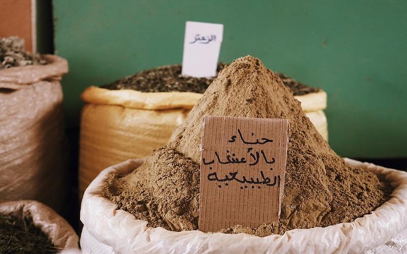 Arabic - sack of brown powder
