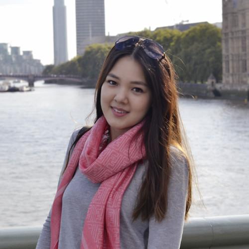 International Pre-Master's Student Dana Kamatay