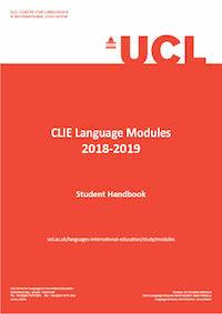 CLIE Language Modules Student Handbook