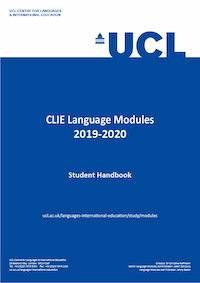 CLIE Language Modules Student Handbook cover image