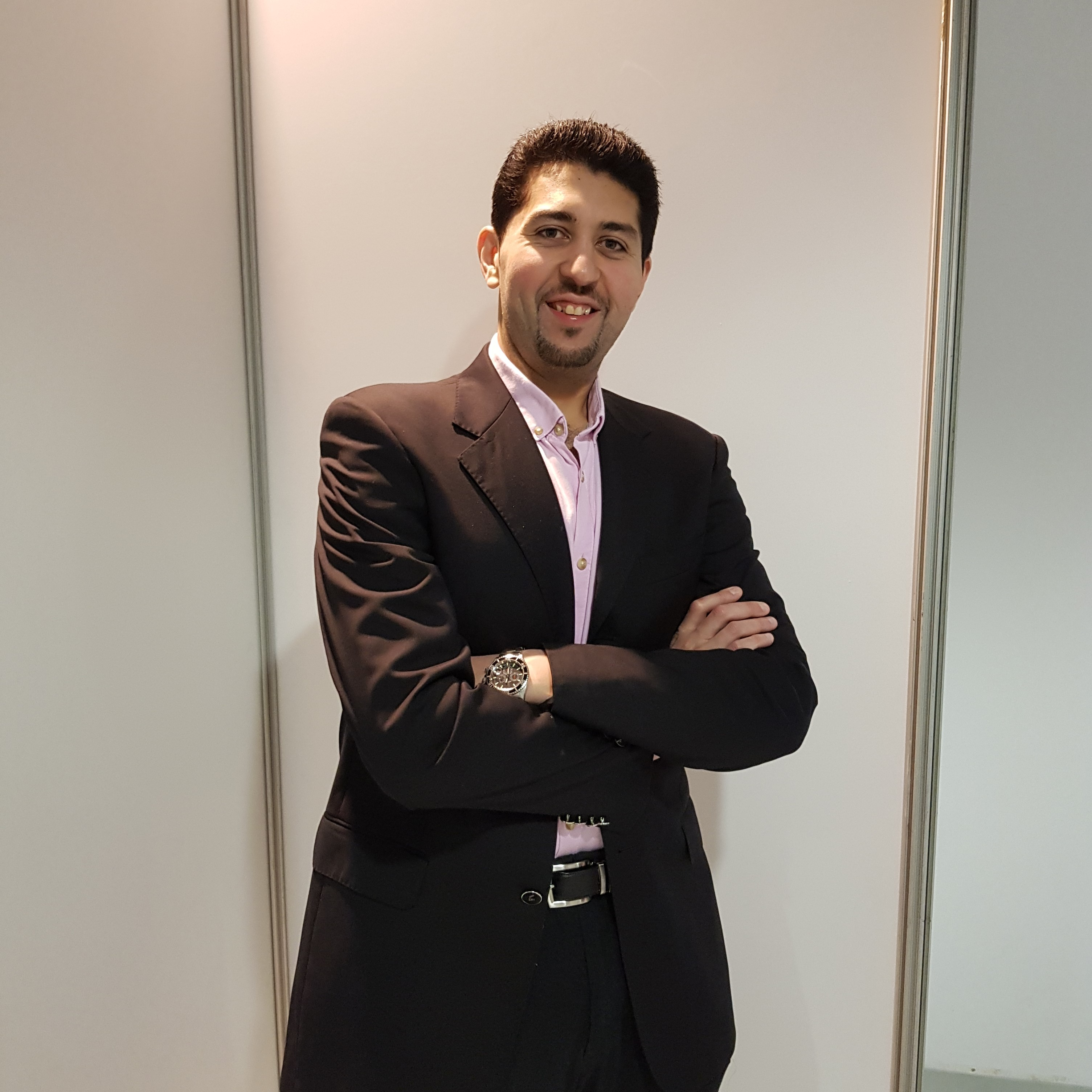 Essam Tawfik, former Pre-sessional English student