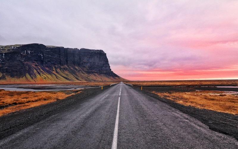 Icelandic: view of Iceland