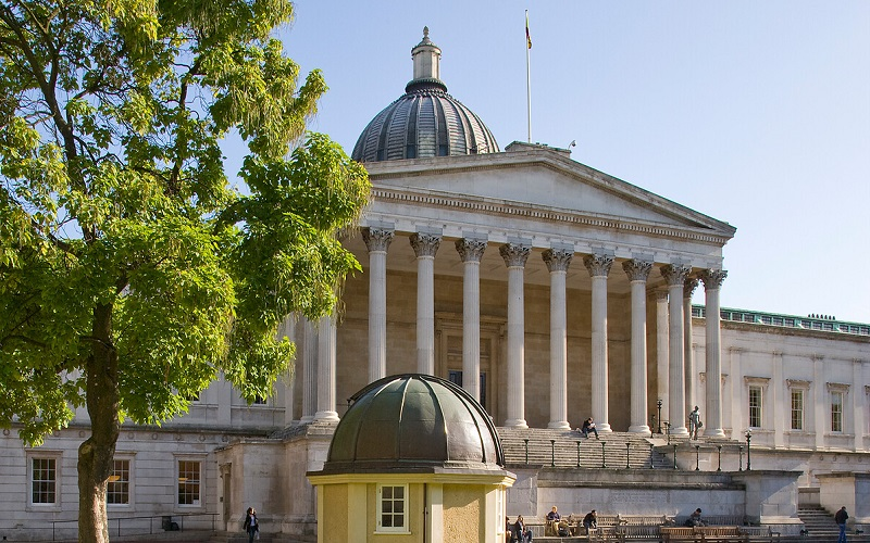 Main UCL quad in the summer