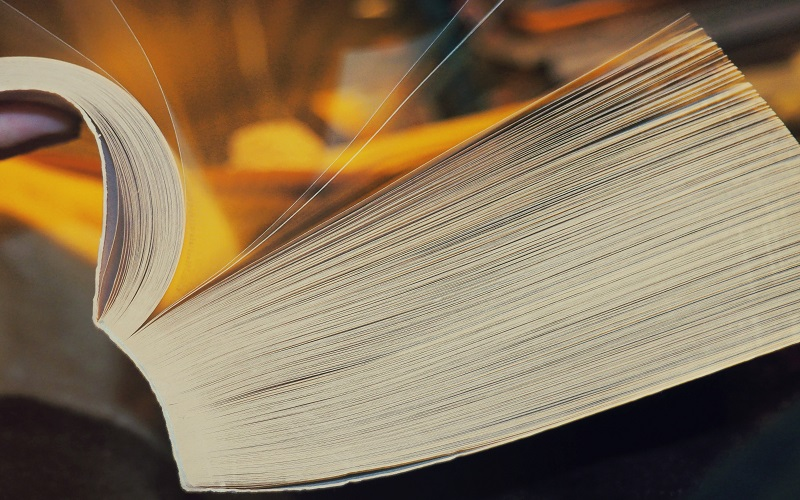 A thick academic book