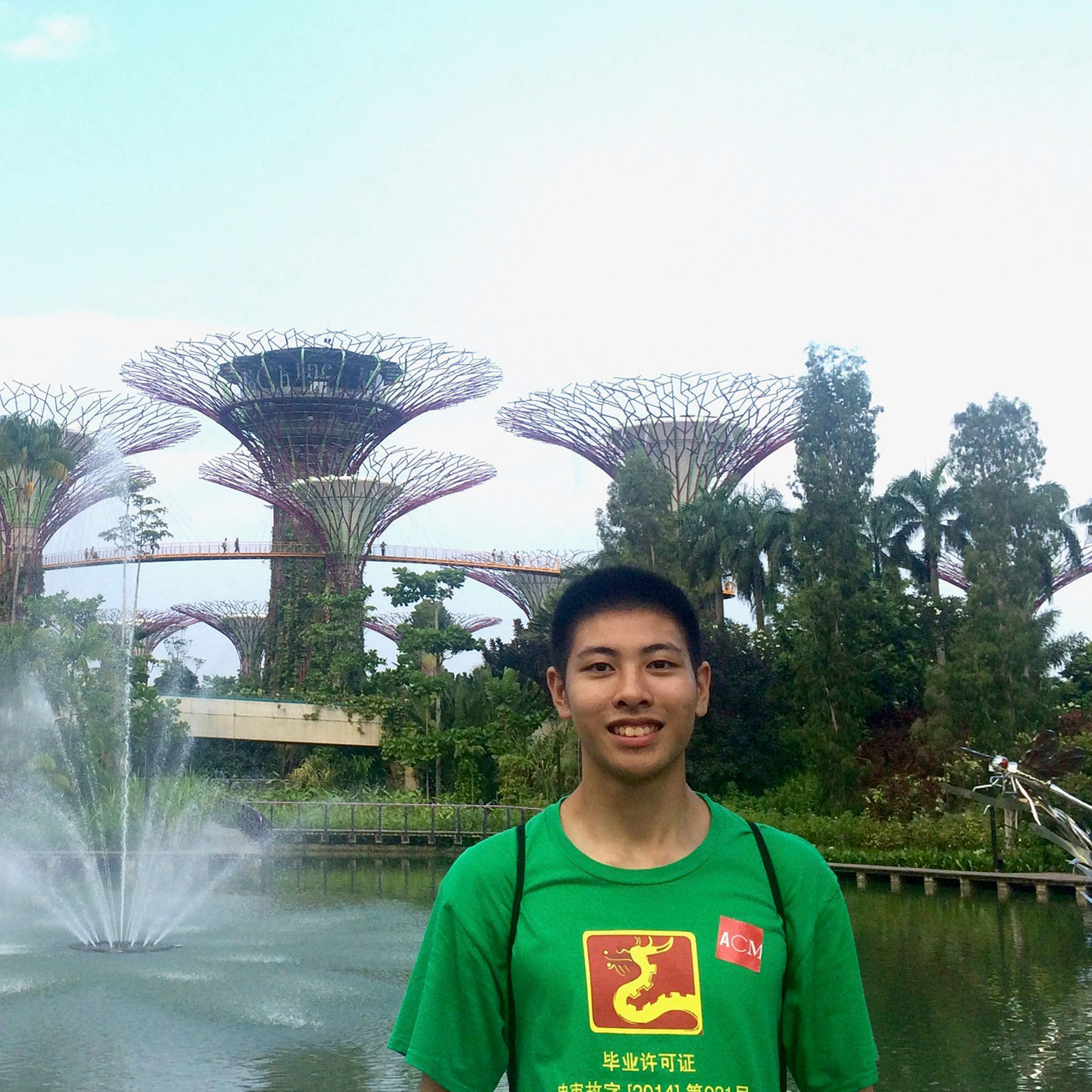 Xudong Yang, former Pre-sessional English course student