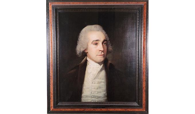 Portrait of Jeremy Bentham 1790