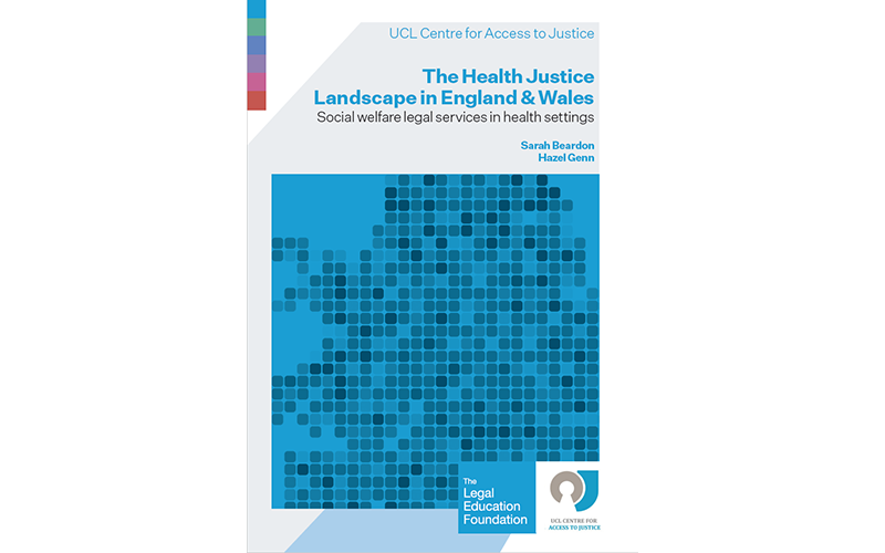 The Health Justice Landscape in England and Wales