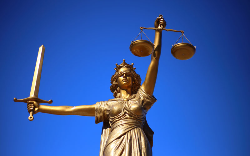 The Rule of Law and Human Rights in our Time - image of Justice