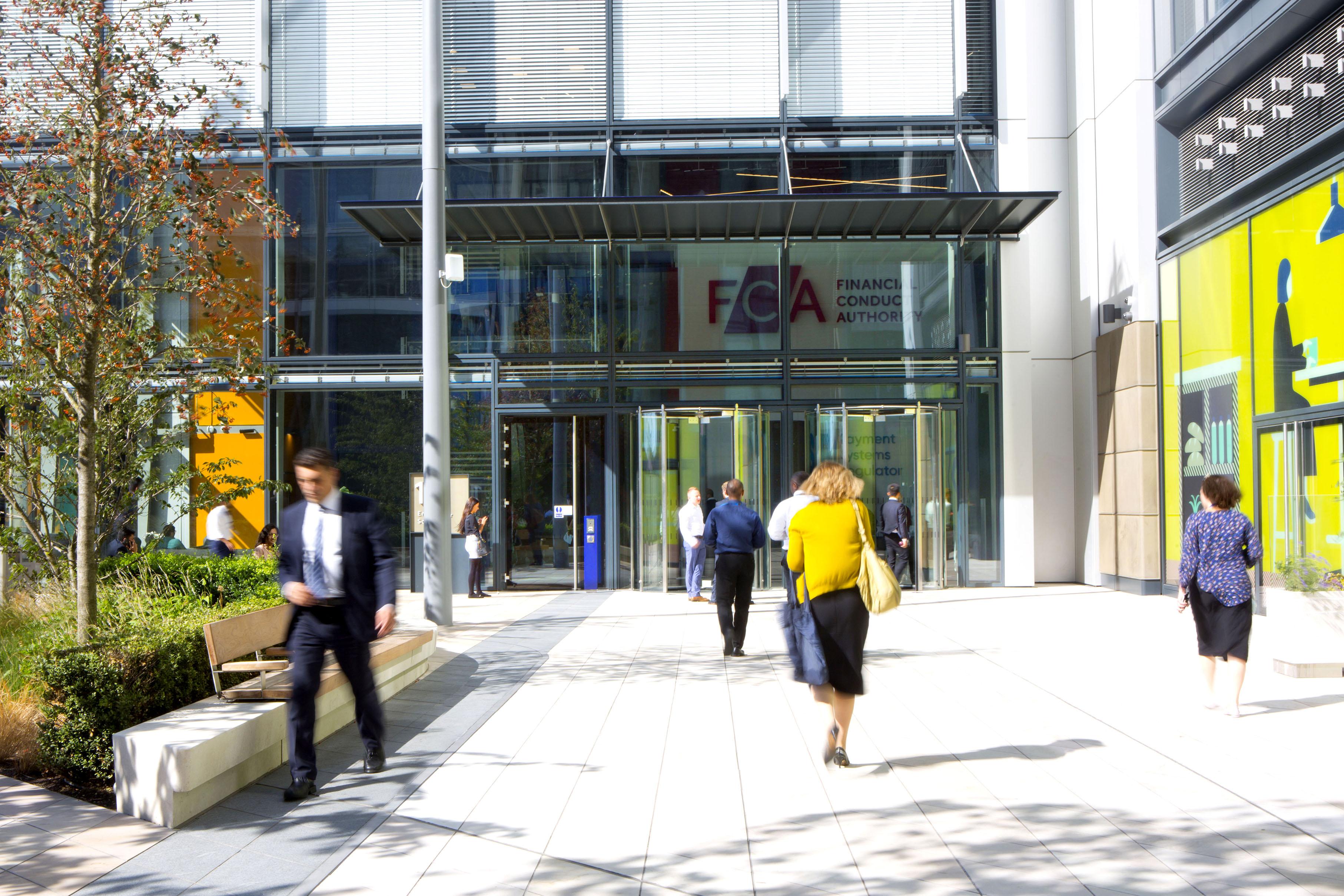 FCA entrance