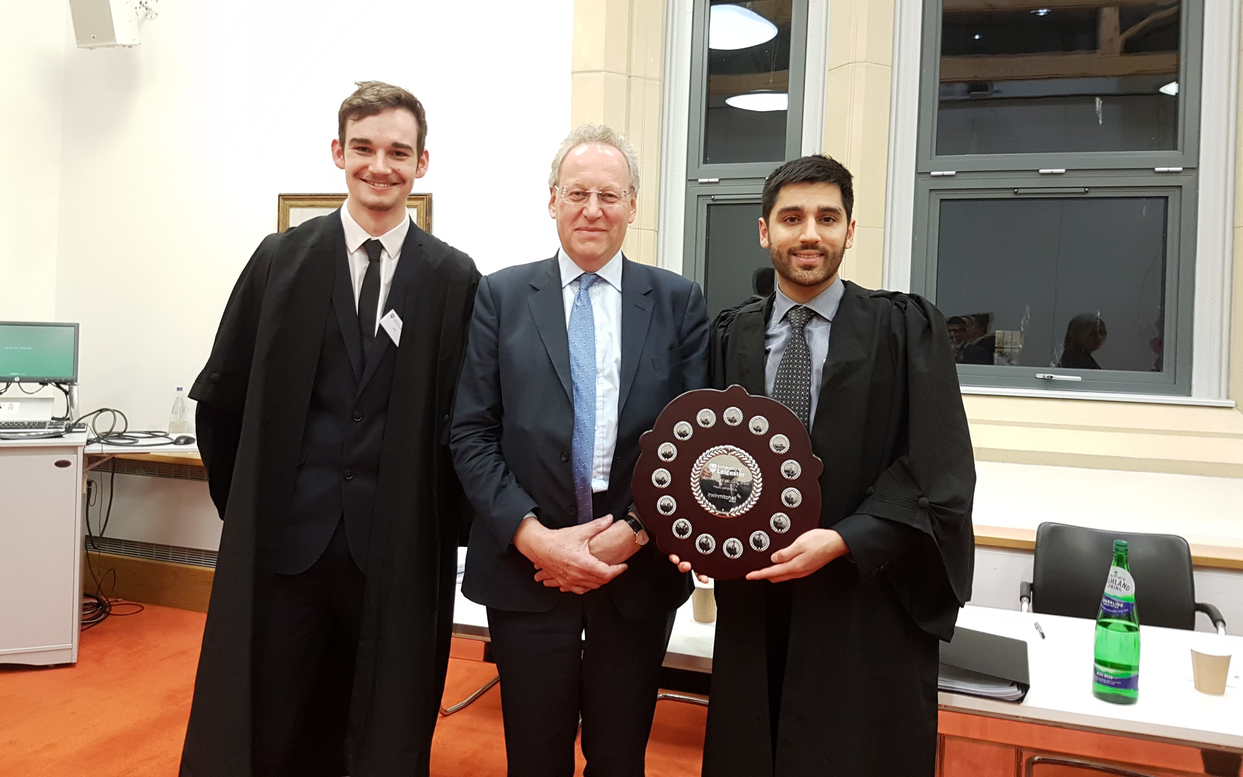 James Witherspoon, Mr Justice Nicholas Green and Sapan Maini-Thompson