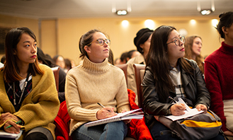 Image of LLM students in a lecture