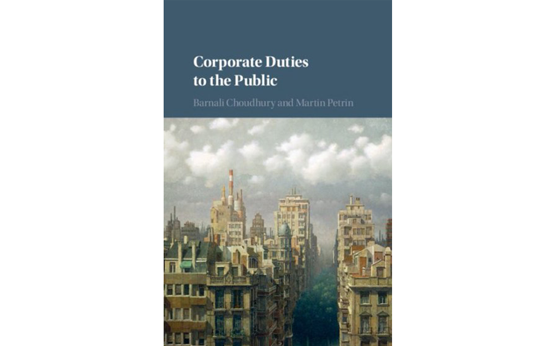 Cover of Corporate Duties to the Public