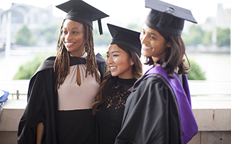 Photo of graduates at 2019