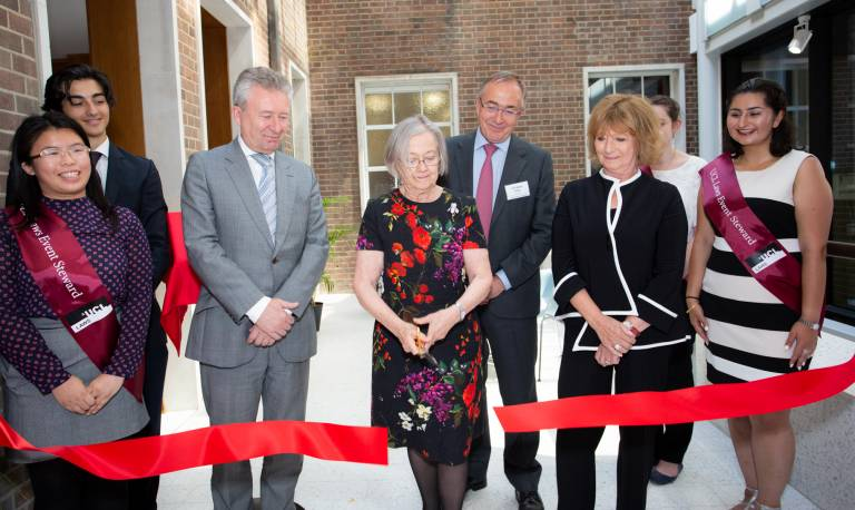 Baroness Hale at the Bentham House opening