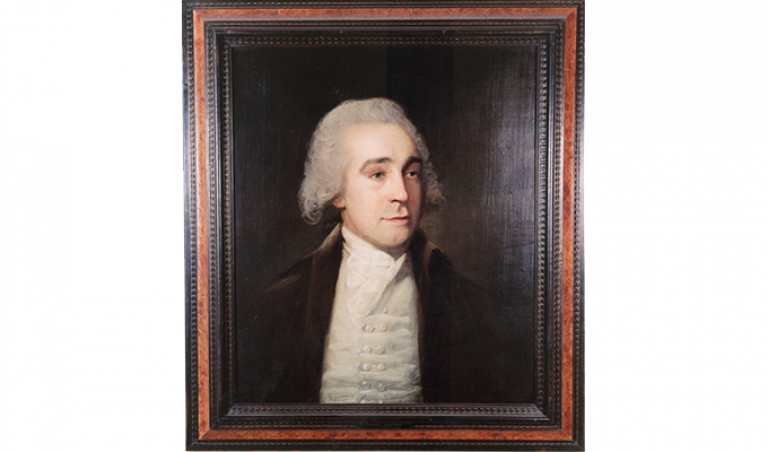 Portrait of Jeremy Bentham 1790