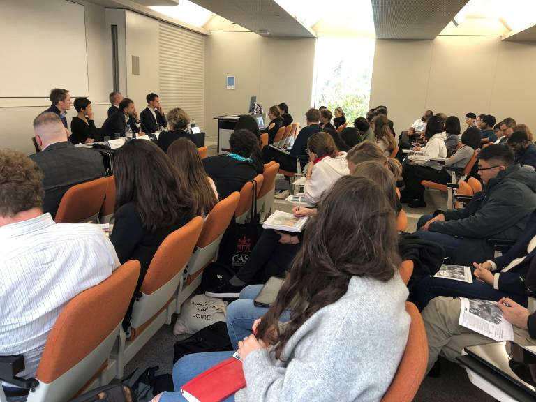 Audience at the UCL Laws Brexit research seminar