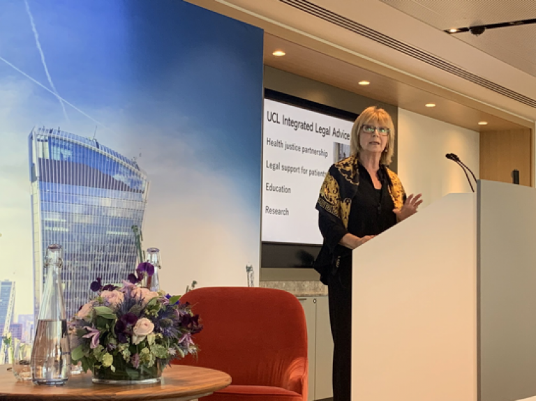 Professor Dame Hazel Genn delivers speech at Access to Justice and Technology Summit