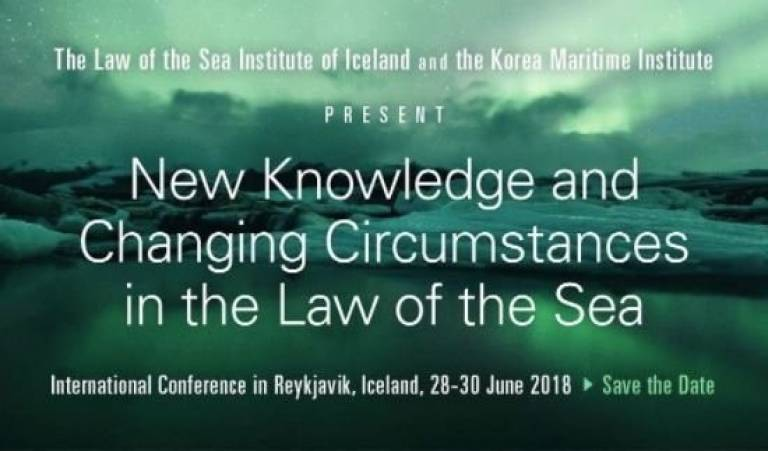 Logo: Law of the Sea Institute of Iceland