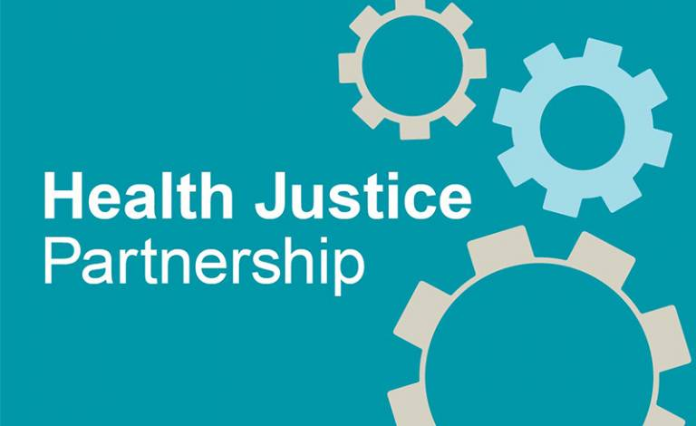 Image of the Health Justice Partnership logo