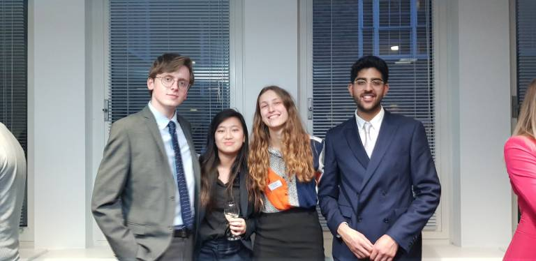 UCL Laws wins Featherstone Moot