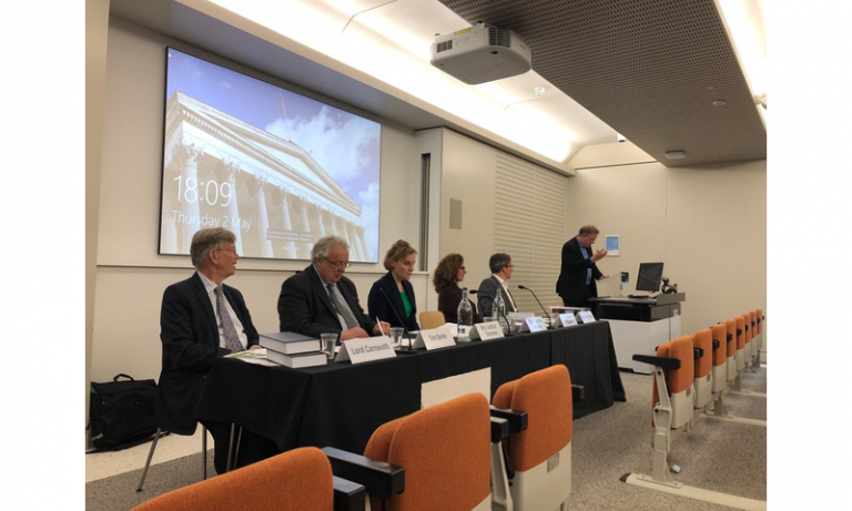 Halsbury's Laws panel event