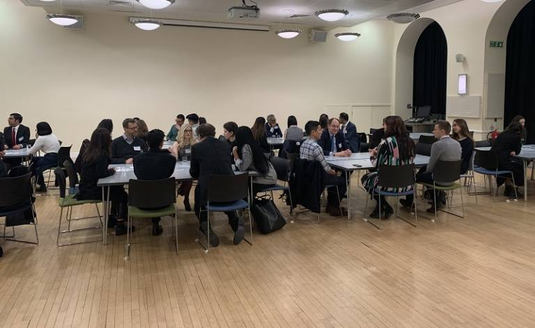 Laws Speed Networking event