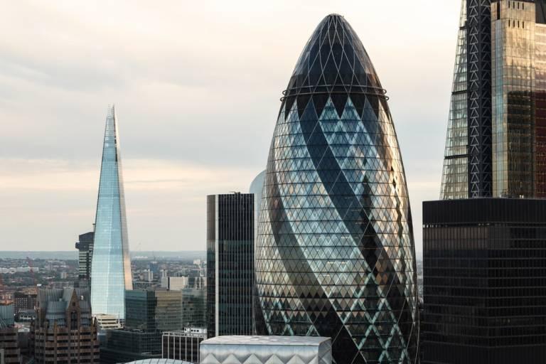 Photo of London skyline