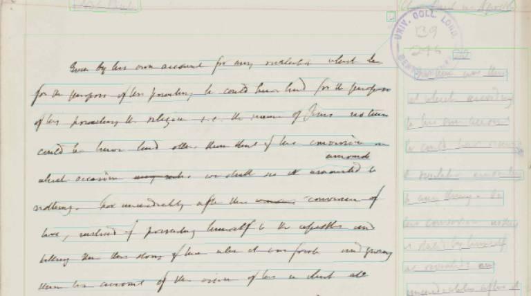 Bentham Manuscript