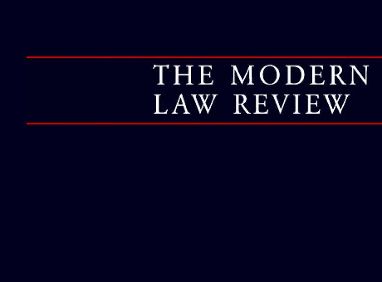 Modern Law Review